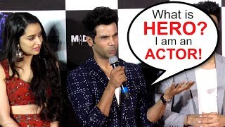 Rajkummar Rao Gets ANGRY On Being Called 'HERO' At Stree Trailer Launch
