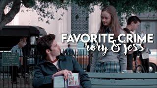rory & jess | favorite crime
