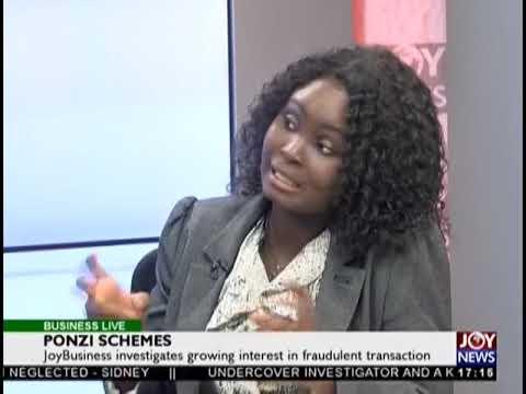 Ponzi Schemes - Business Live on JoyNews (17-1-19)