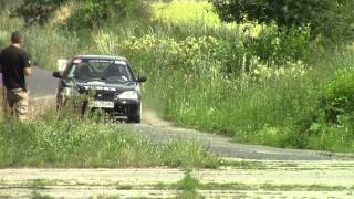 preview picture of video 'XVIII Rally Mińsk Mazowiecki 2014, Załoga nr 1'