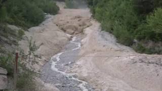 Illgraben 22.07.2016 - Lave Torrentielle, Murgang, Debris Flow