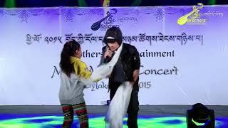 Tibetan Musical Concert 2015 @ Bylakuppe (Tenzin Sungyi) Bhoeyig Tibetan Song