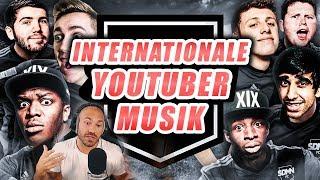 """KSI Vs Sidemen / I rate international youtuber """"music"""""""