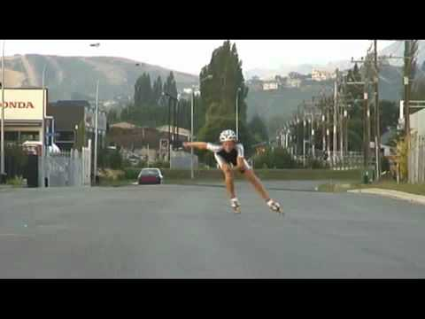 Inline speed skating, double push.mp4