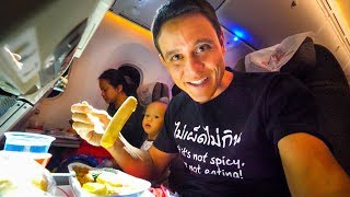 Kenya Airways FOOD REVIEW - Bangkok to Nairobi to Accra | Africa Travel Vlog!