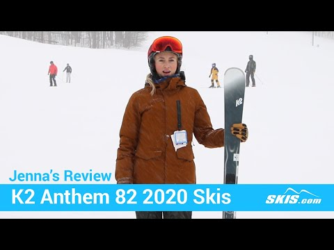 Video: K2 Anthem 82 Skis 2020 8 50