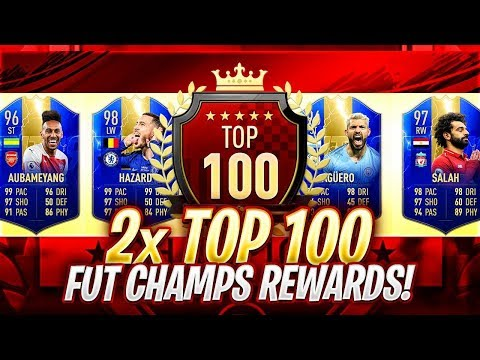 THESE REWARDS ARE INSANE! 2x TOP 100 IN THE WORLD EPL TOTS REWARDS! FIFA 19 Ultimate Team