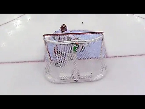 Anderson makes a last second save after getting distracted