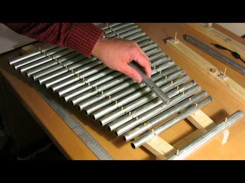 DIY Glockenspiel first test