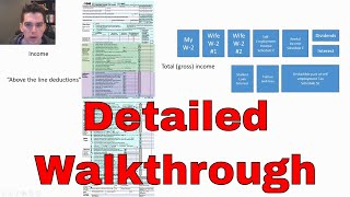 Filling Out a Complicated Tax Return for free with Free Fillable Forms
