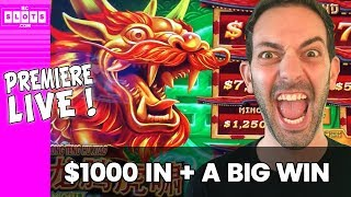 🔴PREMIERE LIVE with $1000 at the Casino 🎰BCSlots