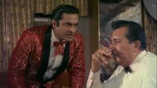 Joy Mukherjee & Zeb Rahaman Hindi Movie Scenes <b>Aag Aur Daag</b>  Meri Good Luck Ke