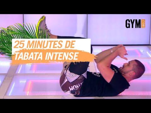 25 MINUTES DE TABATA INTENSE - GYM DIRECT