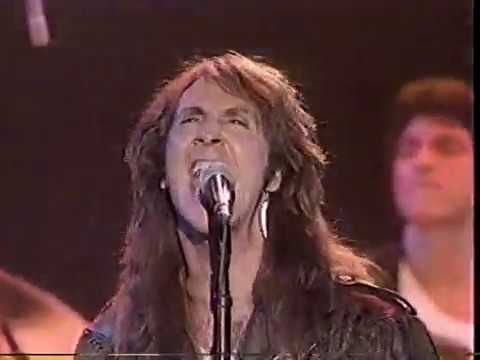 The Knack July 1987 reunion, late night TV performance