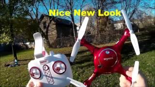 Syma X5UW Wifi FPV With Altitude Hold Drone Test Flight