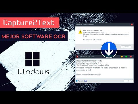 El Mejor Software OCR para Windows: Capture2Text ✅