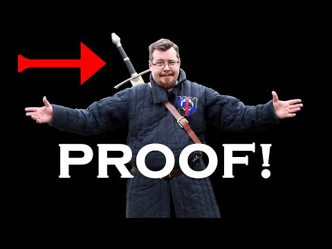 PROOF! drawing a SWORD from your BACK and why you would want to