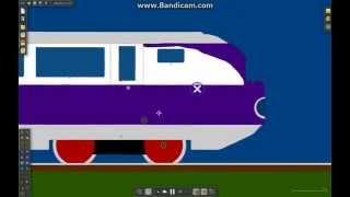 Algodoo: The Runaway Train