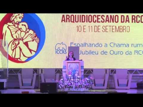 XVI Congresso Arquidiocesano   4ª Pregação: Espírito Santo, o Sopro da Vida - Maria Beatriz Spier Vagas
