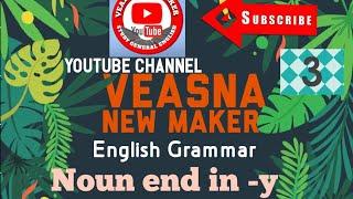 Nouns  Ending (y) And Change To (ies) Of Singular And Plural   នាមបញ្ចប់ដោយ( Y )