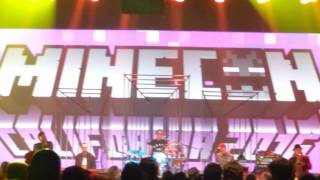 Fitz And The Tantrums - Walking Target [LIVE from MINECON 2016]
