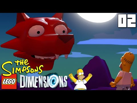 """JOHNNY CASH COYOTE SPIRITS!!!"" LEGO Dimensions SIMPSONS LEVEL PACK Part 02 - 1080p HD PS4 Gameplay Mp3"