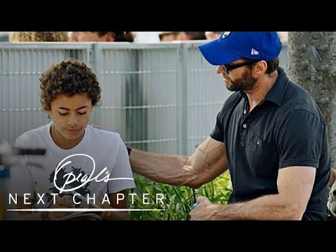 Why The Paparazzi Love Hugh Jackman | Oprah's Next Chapter | Oprah Winfrey Network