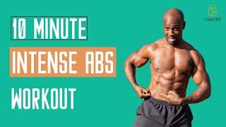 10 MINUTE INTENSE ABS WORKOUT (NEW ABS)   FOLLOW ALONG