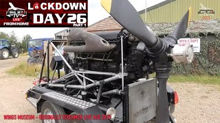 BIG JETS FROM HOME: DAY TWENTY SIX (Part 1) MERLIN ENGINE START-UP!