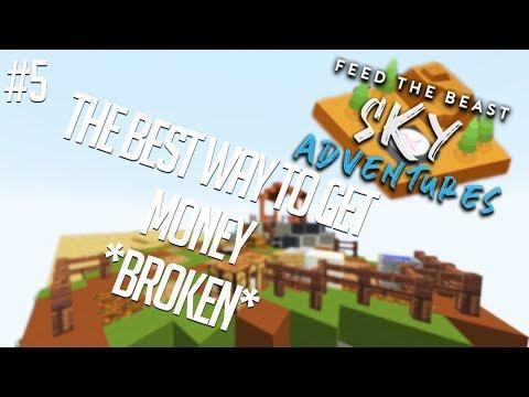 FTB Sky Adventures 1 3 0 Dupe Glitch - смотреть онлайн на