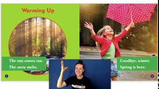 ASL Storytime: What Happens in Spring? Weather in Spring
