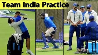 WATCH: Indian Team's Practice Session Before Afghanistan Match | ICC CWC 2019