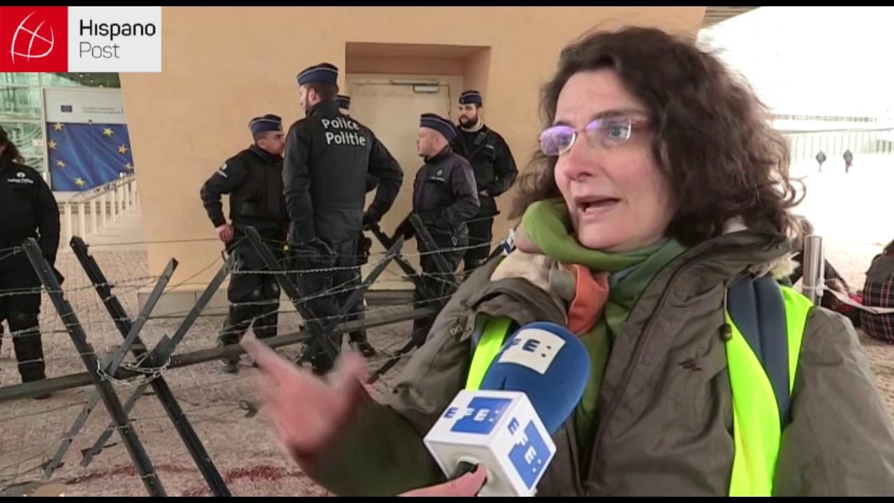 Protestan en la Comisión Europea por alto presupuesto militar