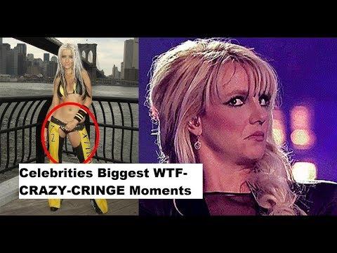 Celebrities Biggest WTF CRAZY CRINGE Moments 2018