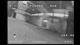 Geprc TinyGO - fun in an abandoned warehouse FPV dvr