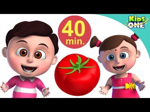 लाल टमाटर | हिंदी बालगीत | Lal Tamatar | Hindi Children Rhymes