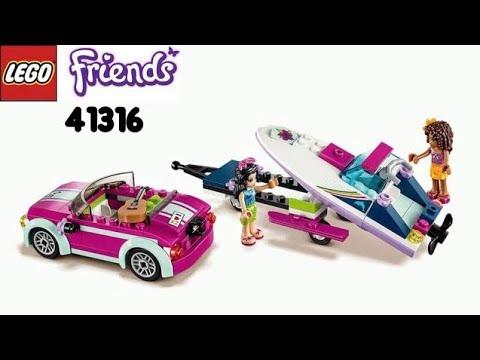 Лего конструктор - Lego Friends Скоростной катер Андреа (41316)