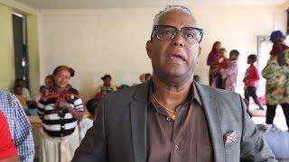 ESAT Special: Activist Tamagne Beyene visits people displaced from Burayo.