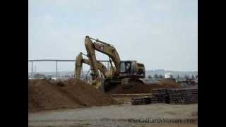 CAT 365C L in action