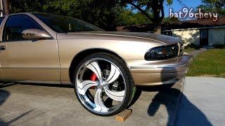 "2015 Update! My 96 Caprice on 26"" Billet Wheels; Talking About Future Plans - 1080p HD"