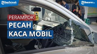 Perampok Pecah Kaca Mobil dan Gondol Rp170 Juta di Ponorogo