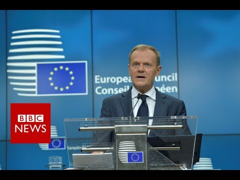 "BREXIT negotiations – Tusk: UK offer for EU citizens ""below expectations"" – BBC News"