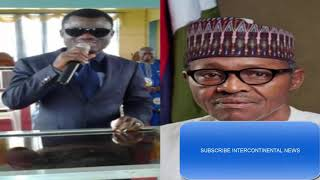 WHAT THIS BLIND PROPHET SAID WOULD HAPPEN TO PRESIDENT BUHARI IF HE CONTEST. SEE VIDEO
