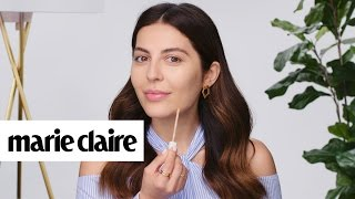 Simply Sona's Time-Saving Makeup Hacks | Marie Claire + Almay