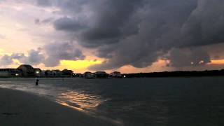 311 Uncalm with lyrics and a Cherry Grove, SC Sunset 8/23/11