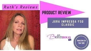 Jura Coffee Machine Impressa F50 Classic REVIEW & DESCALING