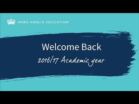 Welcome Back 2016/17 Academic Year