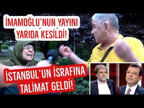 Ahmet Hakan İmamoğlu'nun Yayınını Neden Yarıda Kesti Yukarıdan Talimat mı Geldi?