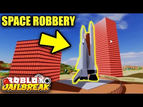 Jailbreak SPACE STATION ROBBERY    THIS IS INSANE! | Roblox