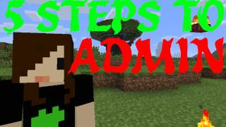 5 Steps to Becoming an Admin - Minecraft